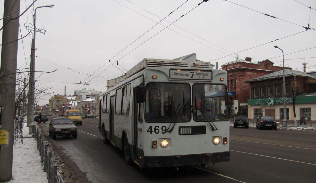 маршрут троллейбуса в
